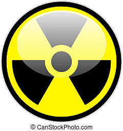 symbole, vecteur, radiation