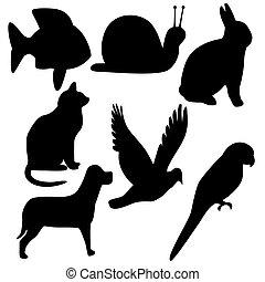 symbolen, dier