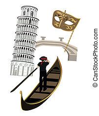symbolen, italië