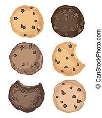 symbolen, koekje