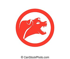 symbolen, logo, dieren, dog, huisdieren