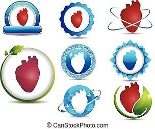 symboler, hjärta
