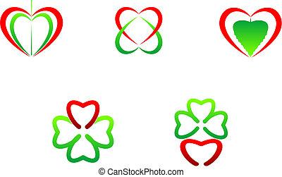 symboler, hjerte