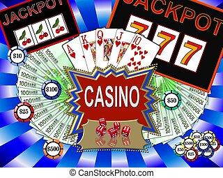 symboler, kasino
