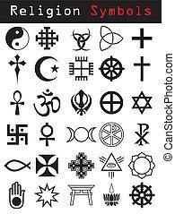 symboler, religion