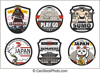 symboler, velkommen, japan, japansk, tegn