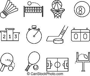 symboles, activités, sport