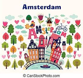 symboles, amsterdam