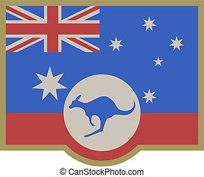 symboles, australie, élégance