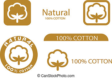 symboles, coton