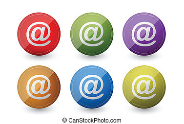 symboles, courrier, att