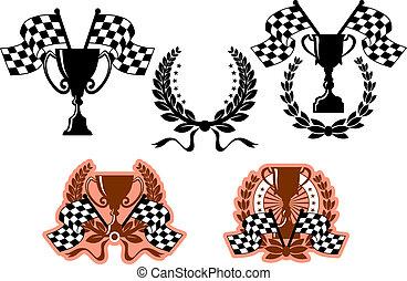 symboles, emblèmes, sports