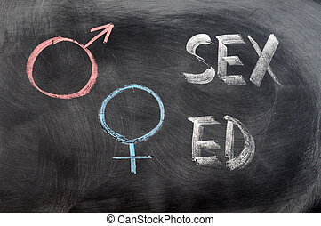 symboles, genre, education, sexe