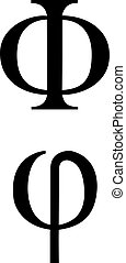 symboles, grec, signes