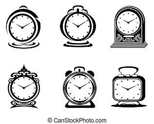 symboles, horloge