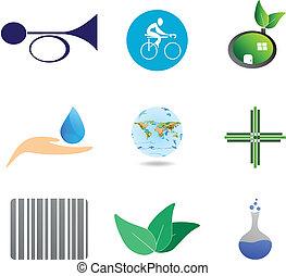 symboles, icônes