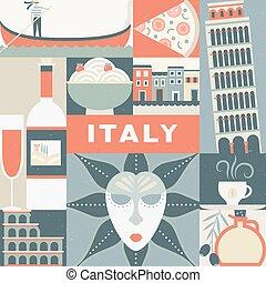 symboles, italien