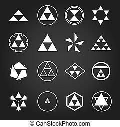 symboles, japon, religieux, sacré