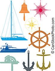 symboles, marin, nautisme
