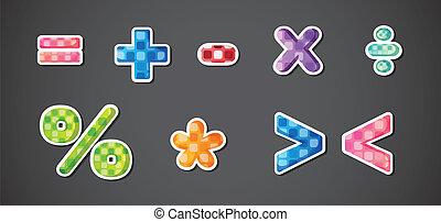 symboles, mathématique