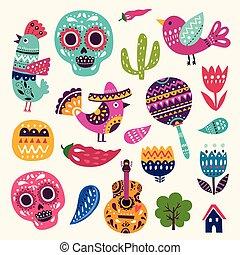 symboles, mexique