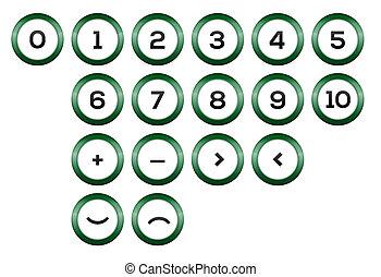 Symboles, nombres
