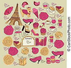 symboles, paris, collection