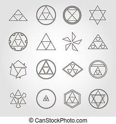 symboles, religieux, sacré, japon