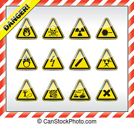 symboles, signe danger