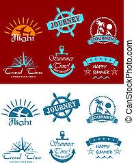 symboles, tourisme voyage