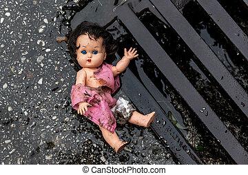 symbolfoto, 濫用, 子供