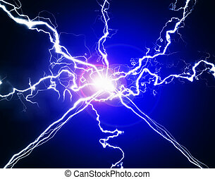 symboli, pur, énergie, électricité