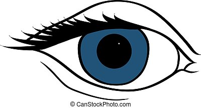 Symbolic abstract eyes.