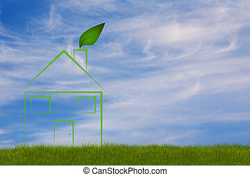 symbolic ecologic house