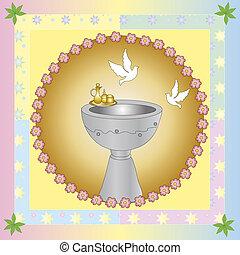 Symbolic illustration for the baptism