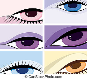 symbolic image of the eyes
