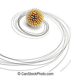 symbolic pencil sketch
