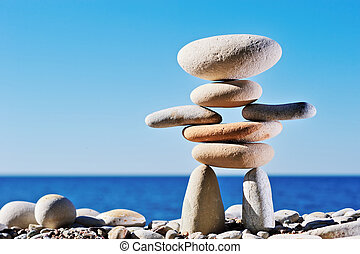 Symbolic - Some of long gravel formed in the symbolic image...