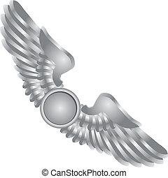 symboliczny, skrzydełka