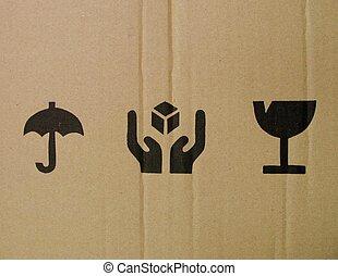 symbolika, boks