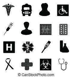 symbolika, medyczny, healthcare