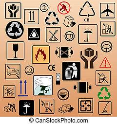 symbolika, uszczelka, komplet