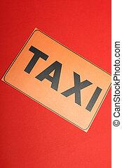 Symbolism of a taxi