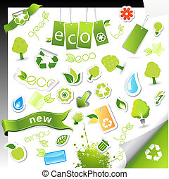 symbols., θέτω , υγεία , οικολογία