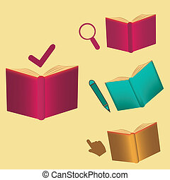 symbols and books