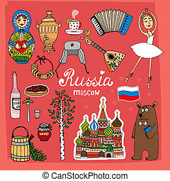Symbols and Icons of Russia