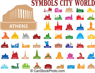 Symbols city world