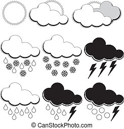 Symbols for weather forecasters