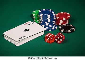 Symbols in the casino games