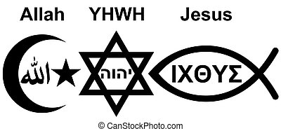 Judaism, Islam and Christianity